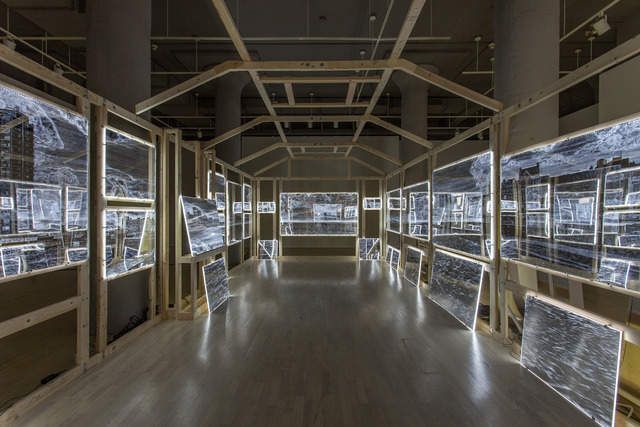 , 'Arcade/Arcadia (interior view),' 2011-2012, Locks Gallery