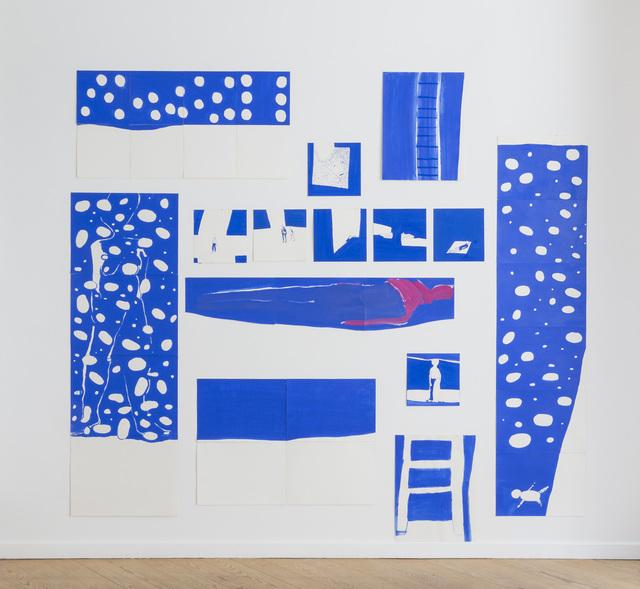 , 'La Mer Bleue (34 gouaches),' 2012, Michel Rein Paris/Brussels
