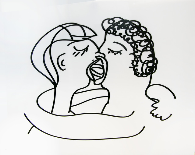 Mary Elizabeth Yarbrough, 'Kiss 2', 2019, Headlands Center for the Arts: Benefit Auction 2019