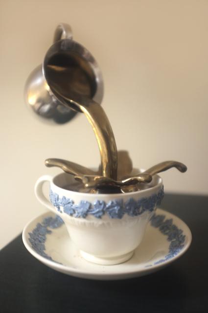 , 'Untitled (Wedgwood Cup piece),' 2010, Robert Kananaj Gallery
