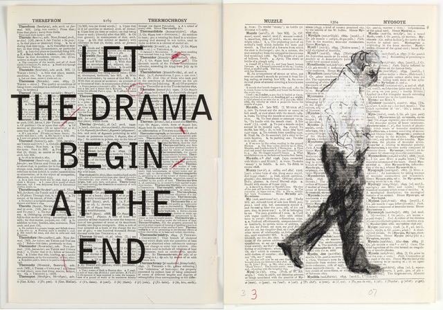 William Kentridge, 'Second Hand Reading', 2013, Video/Film/Animation, Flipbook film from drawings on single pages of the Shorter Oxford English Dictionary, HD video, colour, sound, Whitechapel Gallery