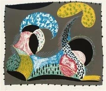 David Hockney, 'Warm Start', 1993, Eames Fine Art