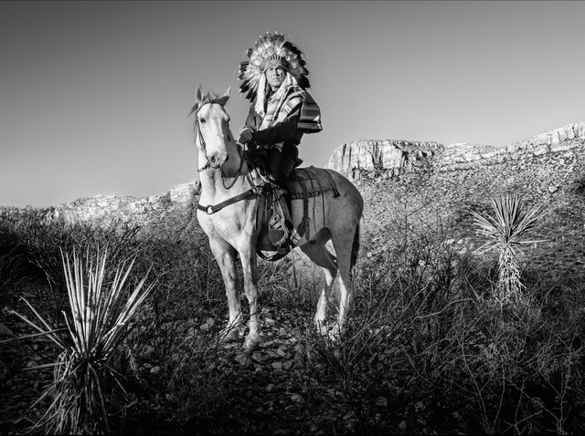 David Yarrow, 'Apache', 2021, Photography, Archival Pigment Print, Samuel Lynne Galleries