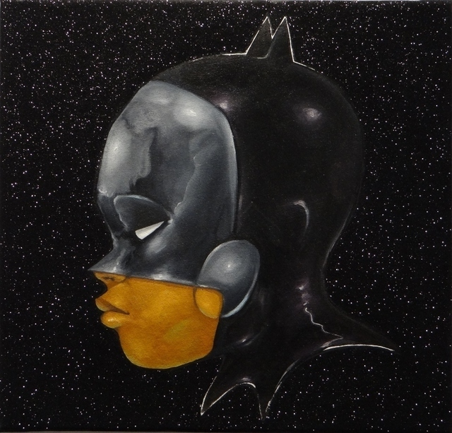 , 'The Dark Knight,' 2014, Galerie Frank Pages