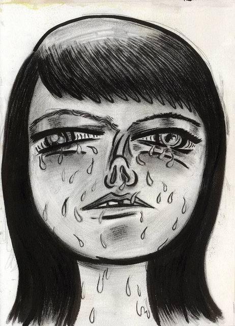, 'Crying Barbara,' 2014, Horton Gallery