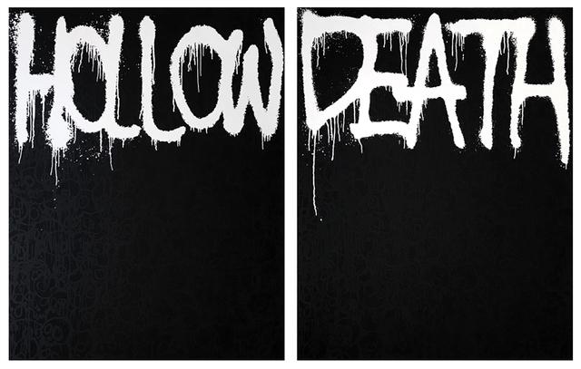 Takashi Murakami, 'Hollow Black - Death Black', 2018, Lougher Contemporary