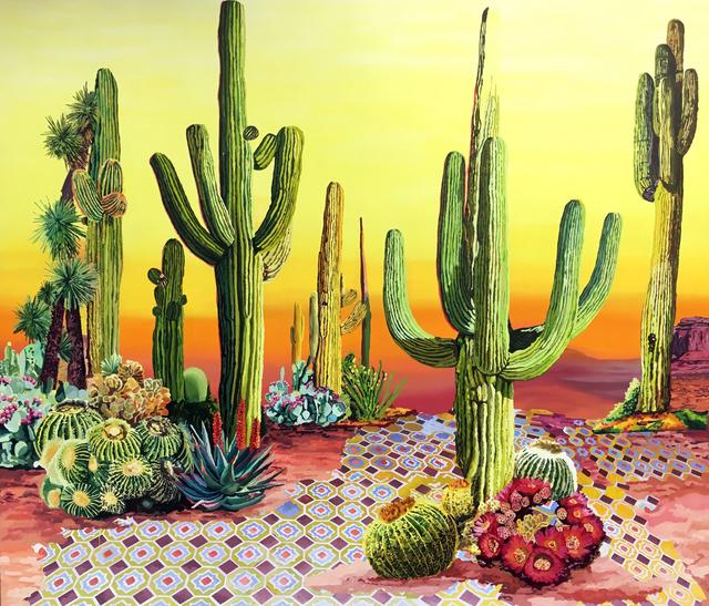 , 'Paisaje de Cactus,' 2017, Victor Lope Arte Contemporaneo