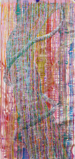 , 'Pink Tree with Bamboos,' 2016, Mizuma & Kips