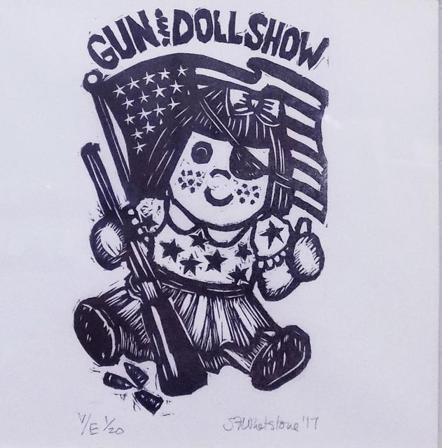 , 'Gun & Dolls, White,' , Sparrow Gallery