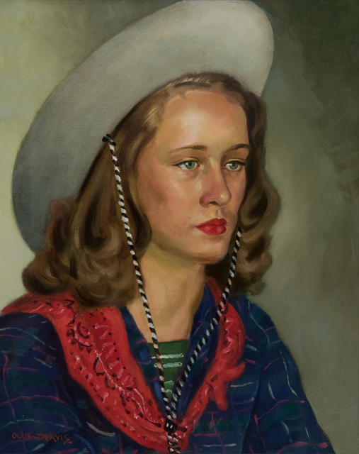 , 'Miss Glover,' 1950, Valley House Gallery & Sculpture Garden