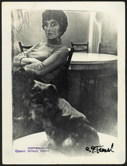 , 'Untitled (seated woman with dog),' 1960-1970, Galerie Julian Sander