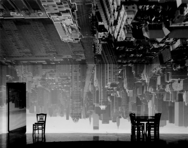 , 'Camera Obscura: Manhattan View Looking South in Large Room,' 1996, Huxley-Parlour