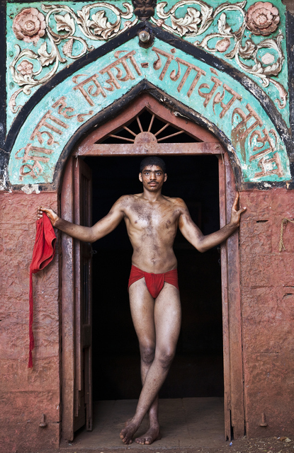 , 'Indian Kushti Wrestler,' 2009, Getty Images Gallery