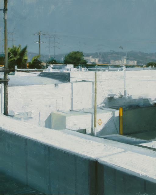 , 'White Buildings in Sun,' 2014, Jenkins Johnson Gallery
