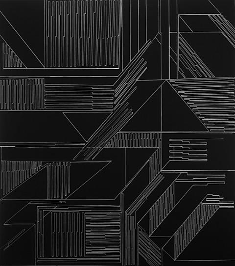 , 'Vector Field Matrix,' 2013, EDS GALERÍA