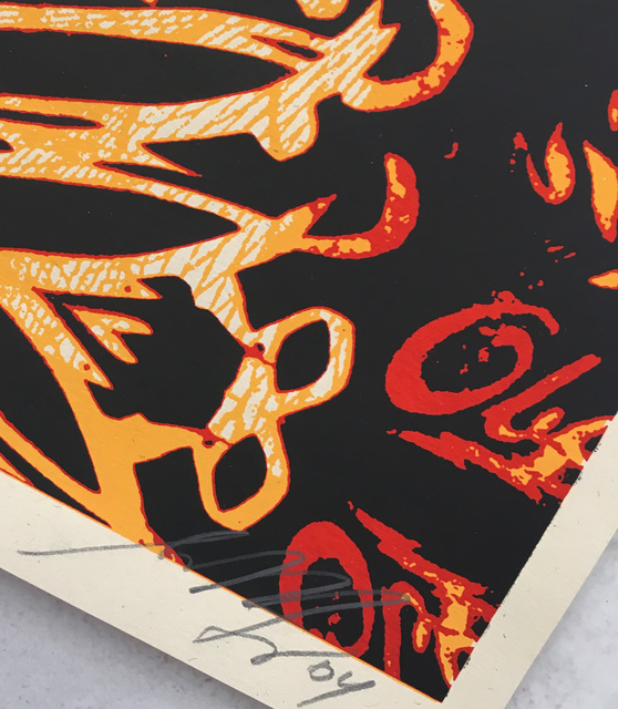 Shepard Fairey, 'Jimi Hendrix ', 2004, Print, Screenprint, Lot 180