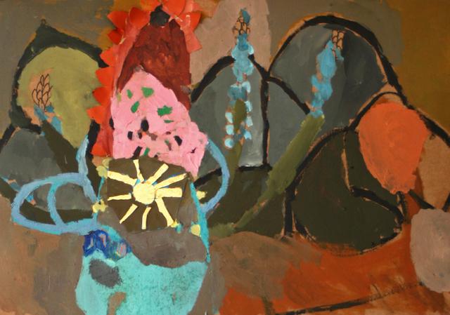 , 'Cucurucho con flor dorada,' 2019, Galeria Contrast