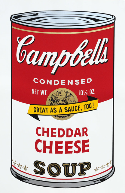 Andy Warhol, 'Cheddar Cheese Soup', 1973, Goldmark Gallery