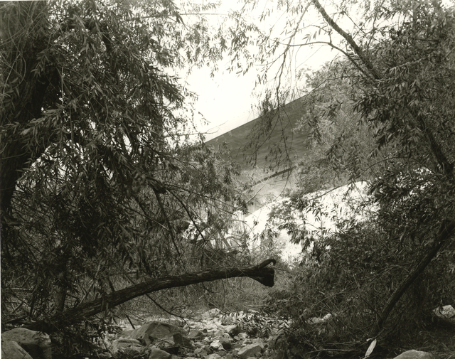 Mark Ruwedel, 'Arroyo Seco #3', 2015, Photography, Gelatin silver print dry-mounted to archival board, Gallery Luisotti