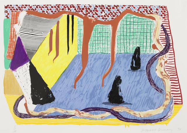 David Hockney, 'Ink in the Room', 1993, William Weston Gallery Ltd.