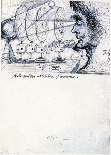 Salvador Dalí, 'Retrospective Utilisation of Aronariaum', 1946, HG Contemporary