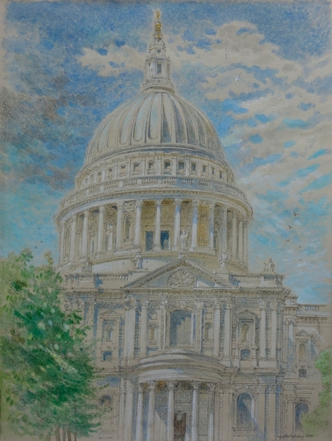 , 'St Paul's from Peter's Hill,' 2010, Robert Eagle Fine Art