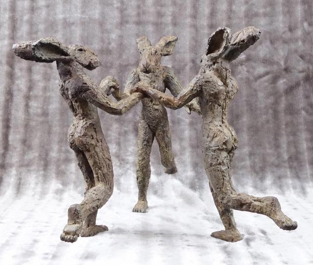 , 'Dancing Ladies II, Maquette,' 2016, Waterhouse & Dodd