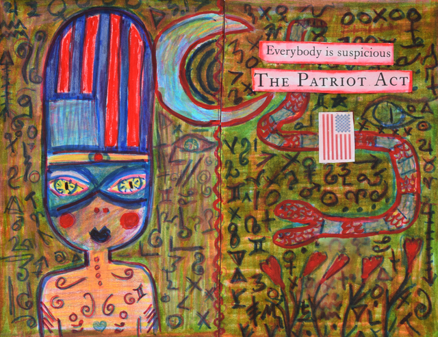 , 'Patriot Act,' 2016, Fountain House Gallery