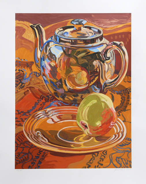 Janet Fish, 'Teapot and Apple', 2007, RoGallery