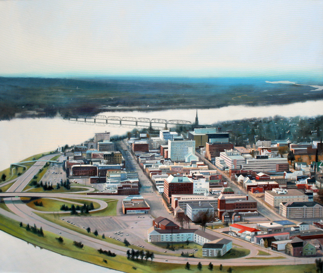 Cliff Turner, 'Fredericton Aerial', 2019, Gallery 78