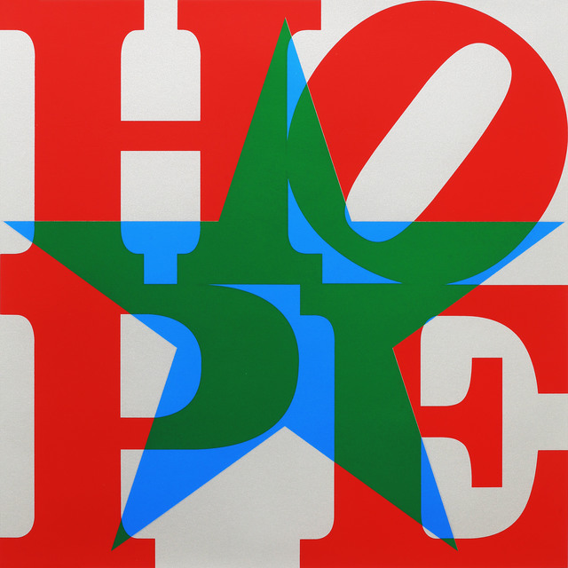 , 'Star of HOPE (Red/Green/Blue/Silver) ,' 2013, Contini Contemporary