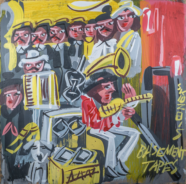 , 'Bob Dylan - Basement Tapes,' 2015, Subliminal Projects