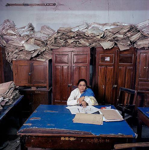 , 'India Bureau Prasad,' 2003, Galerie Fontana