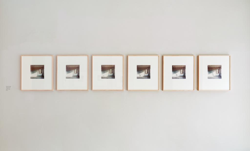 Installation view: Guido Guidi 'From the Interior', 24 Apr - 24 Jul 2015, Large Glass, London. Photo©Alex Delfanne.