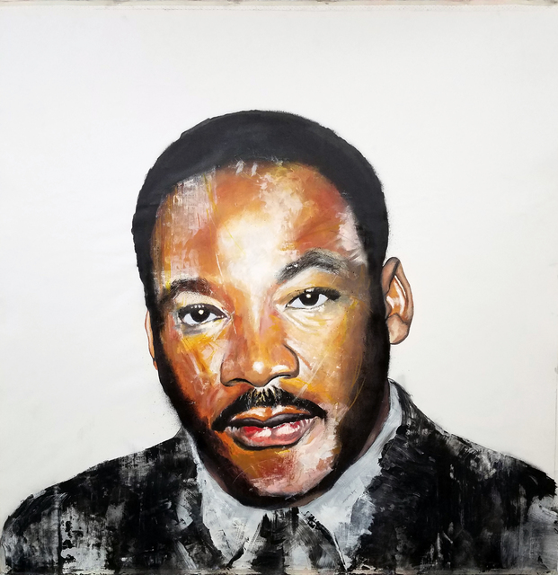 , 'Martin Luther King Jr.,' 2017, Resource Art