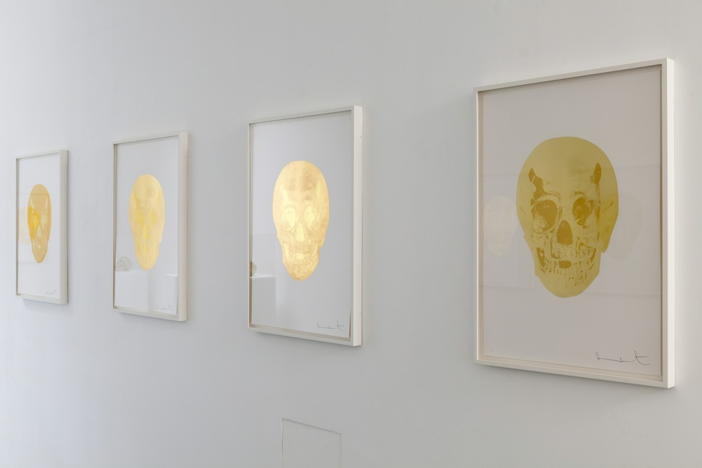 Installation at Paul Stolper Gallery - Damien Hirst - Death or Glory