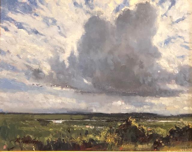 Marc Hanson, 'Marsh Flight', 2018, Anderson Fine Art Gallery