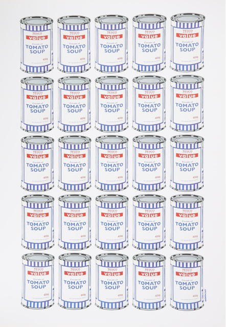 Banksy, 'Soup Cans Poster', 2010, Chiswick Auctions