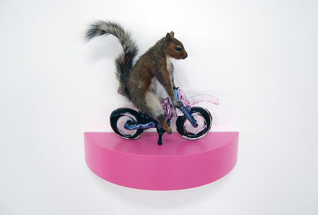 , 'The Squirrels - pink,' 2018, Exhibit A
