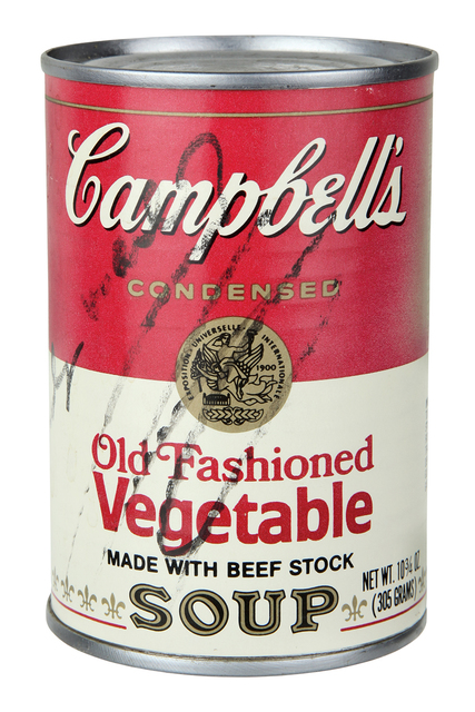 Andy Warhol, 'Campbell's Soup - Old Fashioned Vegetable', 1970, Bertolami Fine Arts