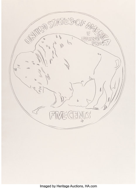 Andy Warhol, 'Buffalo Nickel', Heritage Auctions