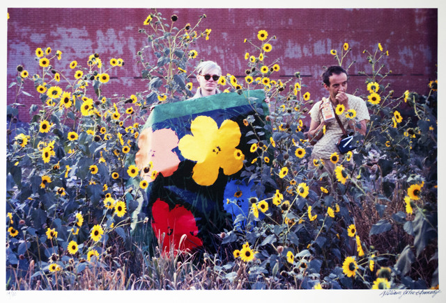 William John Kennedy, 'Andy Warhol with Taylor Mead and Flowers ', 1964, William John Kennedy Collection
