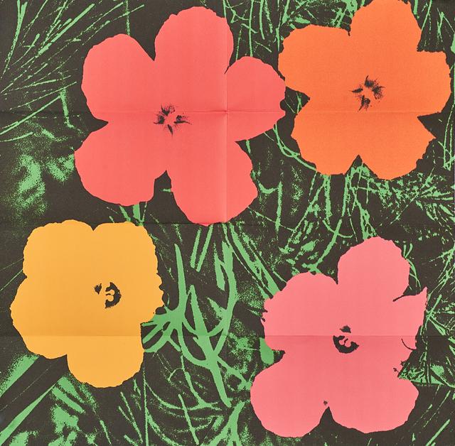 Andy Warhol, 'Flowers', 1964, Rago/Wright