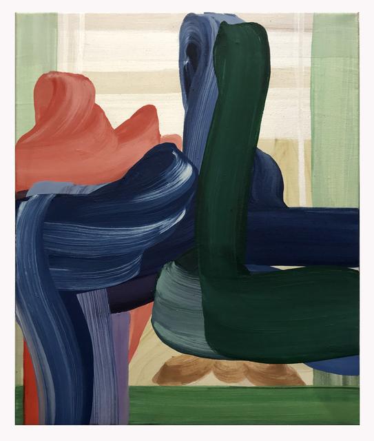 , 'Tango verde,' 2017, Galleria Doris Ghetta
