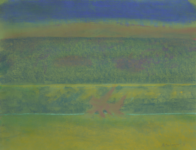 , 'Landscape with Purple Bushes,' 2011, David Nolan Gallery