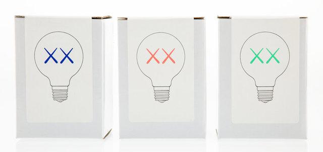 KAWS, 'Limited Edition XX Light Bulbs, set of three', 2011, Heritage Auctions
