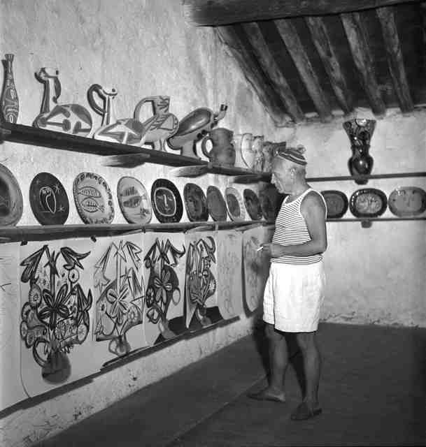 , 'Picasso in the Madoura studio, Vallauris,' 1948, Cahiers d'Art