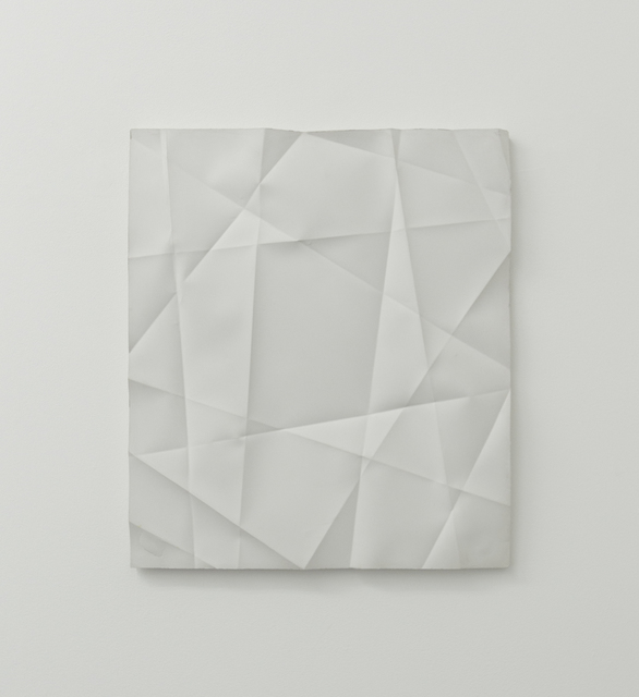 , 'Faltenguss No. 4/18,' 2018, Bartha Contemporary