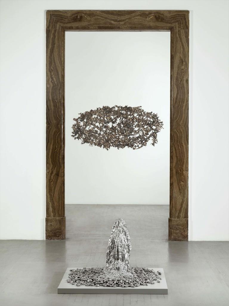 Michel François, September 2018, partial view of the exhibition, Courtesy Galleria Alfonso Artiaco, Napoli photo: Luciano Romano