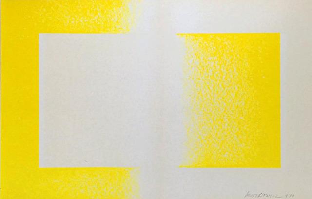 , 'Yellow Reversed,' 1970, Alpha 137 Gallery